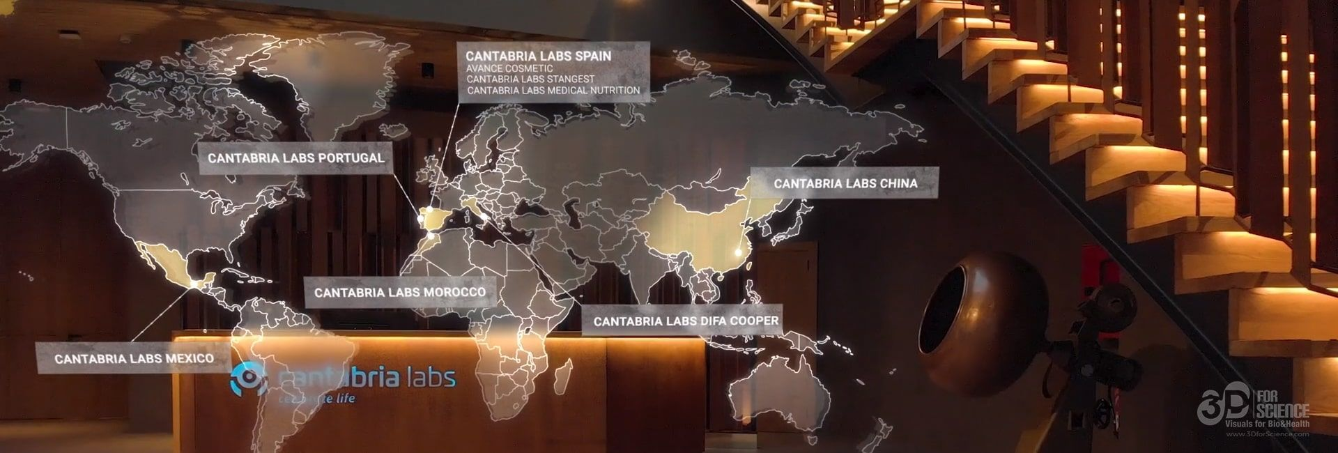 cantabria labs in the world