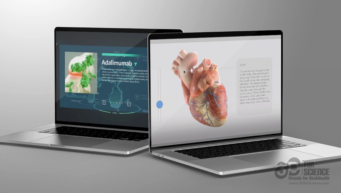 design corporate presentations by 3dforscience