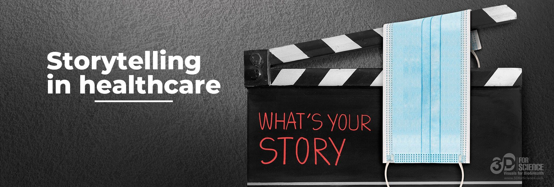 poster of a storytelling in healthcare