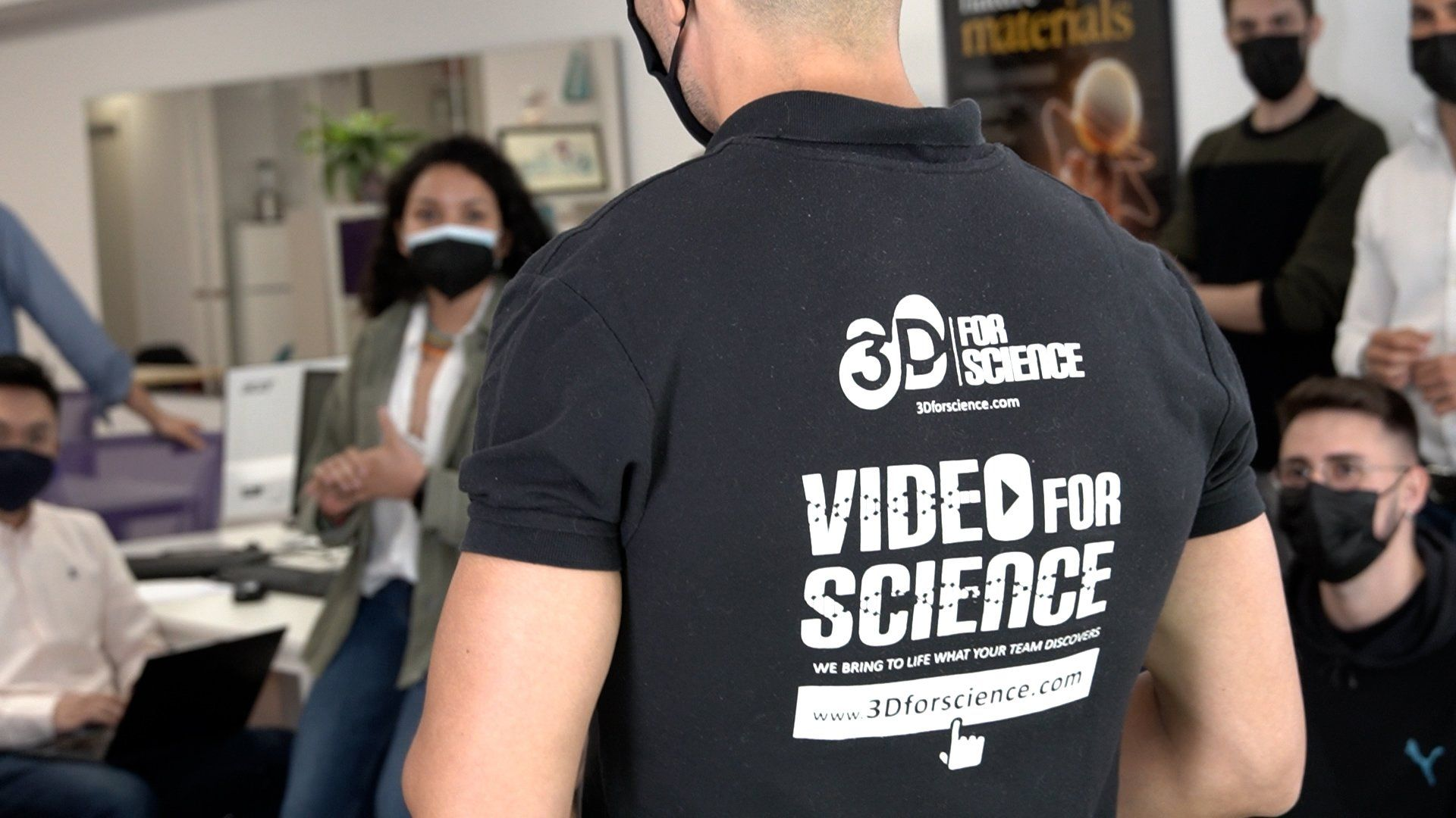 3dforscience video for science
