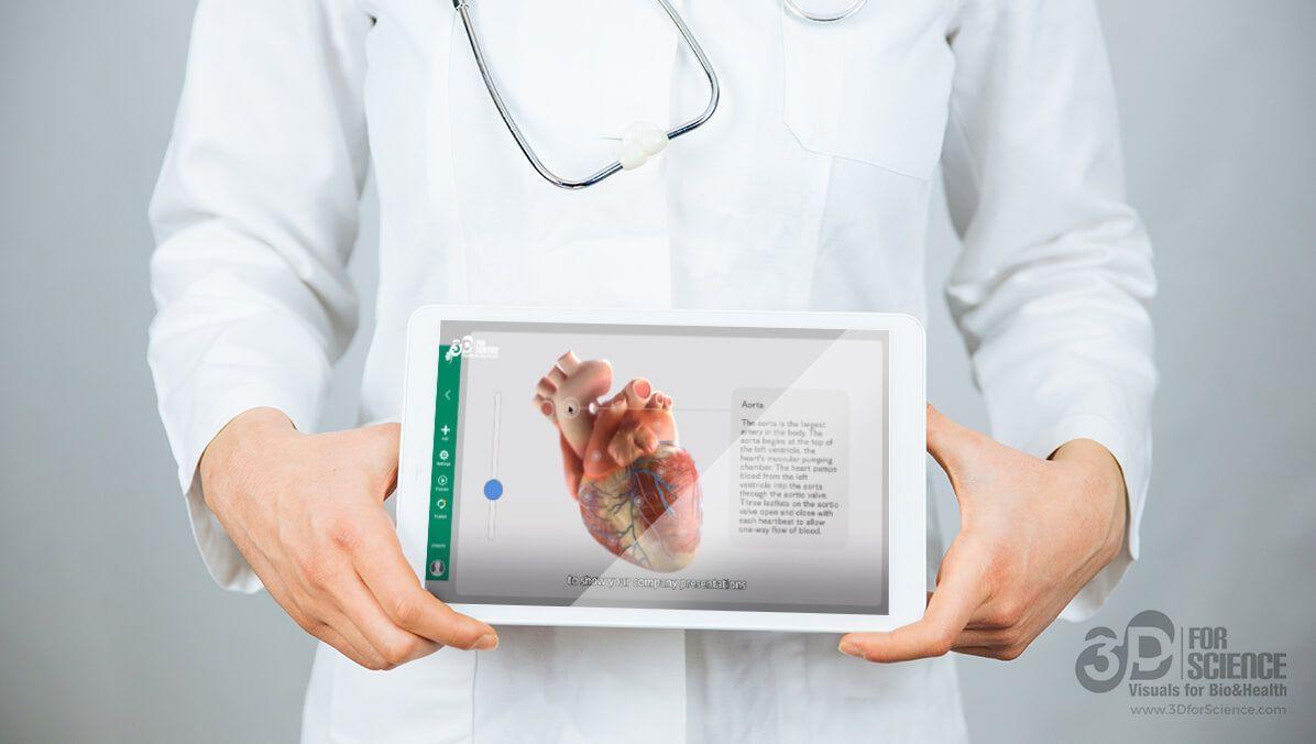 3d animation in e-health era